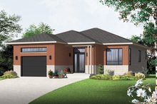 Contemporary Exterior - Front Elevation Plan #23-2576