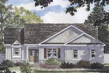 Home Plan - European Exterior - Front Elevation Plan #316-256