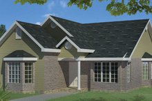 Dream House Plan - Ranch Exterior - Front Elevation Plan #1061-23