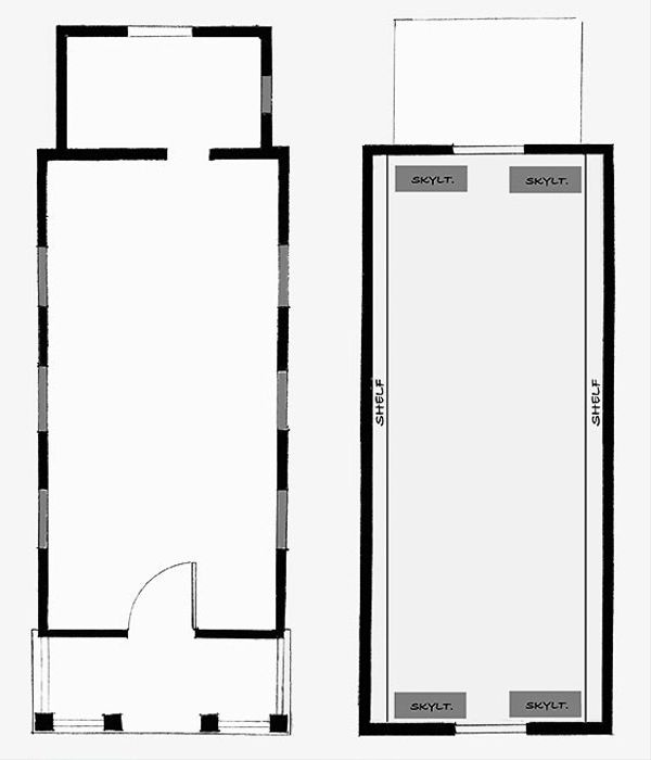 Cottage Style House Plan - 1 Beds 1 Baths 290 Sq/Ft Plan #896-5 Floor Plan - Other Floor Plan