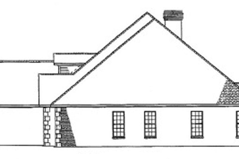 Country Exterior - Other Elevation Plan #17-2681 - Houseplans.com