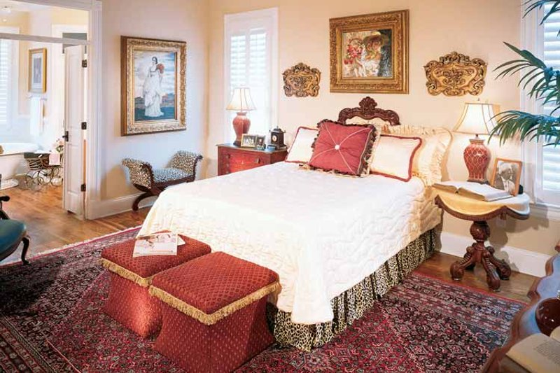Classical Interior - Bedroom Plan #429-85 - Houseplans.com