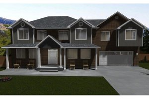 Dream House Plan - Traditional Exterior - Front Elevation Plan #1060-18