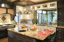 Architectural House Design - Traditional Interior - Kitchen Plan #48-877