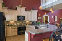 Country Interior - Kitchen Plan #17-3266