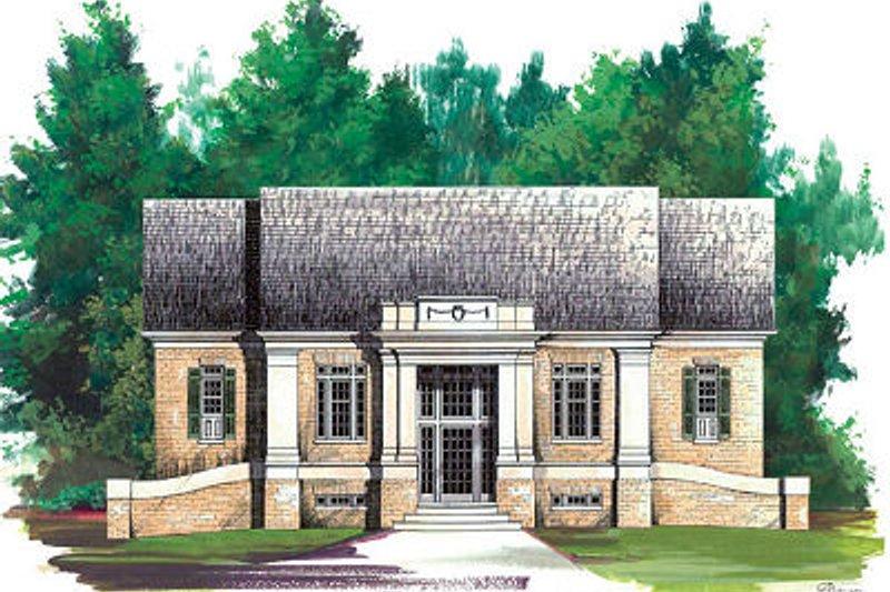 Colonial Exterior - Front Elevation Plan #119-265 - Houseplans.com