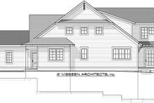 House Plan Design - Traditional Exterior - Other Elevation Plan #928-286