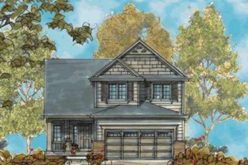 Traditional Style House Plan - 3 Beds 3 Baths 1774 Sq/Ft Plan #20-1667