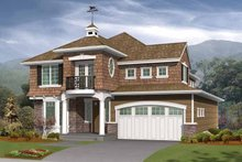 Architectural House Design - Craftsman Exterior - Front Elevation Plan #132-299