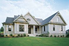 Dream House Plan - Craftsman Exterior - Front Elevation Plan #929-650