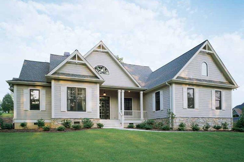 Craftsman Exterior - Front Elevation Plan #929-650 - Houseplans.com