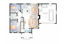 Traditional Floor Plan - Main Floor Plan Plan #23-2530