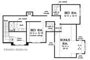 Craftsman Style House Plan - 4 Beds 3.5 Baths 2574 Sq/Ft Plan #929-1080 Floor Plan - Upper Floor Plan