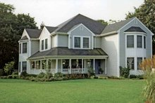 Dream House Plan - Country Exterior - Front Elevation Plan #314-246