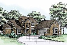 Traditional Exterior - Front Elevation Plan #320-751