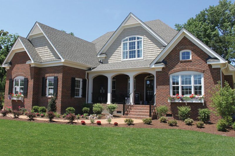 Country Exterior - Front Elevation Plan #927-372 - Houseplans.com