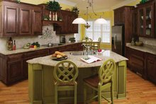Country Interior - Kitchen Plan #929-755
