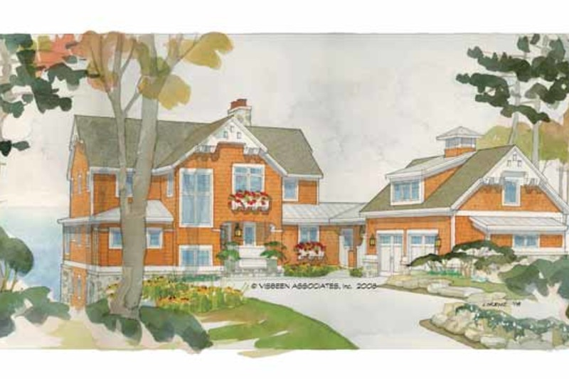 Craftsman Exterior - Front Elevation Plan #928-64 - Houseplans.com