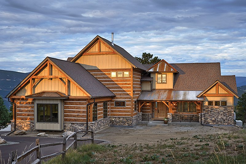 Architectural House Design - Craftsman Exterior - Front Elevation Plan #942-30