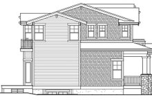 House Plan Design - Craftsman Exterior - Other Elevation Plan #132-465