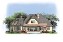 Home Plan - European Exterior - Rear Elevation Plan #929-904