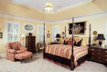 Architectural House Design - Colonial Interior - Bedroom Plan #54-184