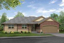 Craftsman Exterior - Front Elevation Plan #132-271