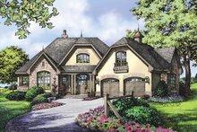 Home Plan - European Exterior - Front Elevation Plan #929-904