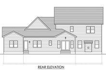 Traditional Exterior - Rear Elevation Plan #1010-206