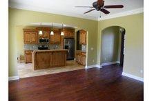 Dream House Plan - European Interior - Family Room Plan #430-65