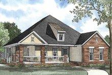 Craftsman Exterior - Front Elevation Plan #17-3106