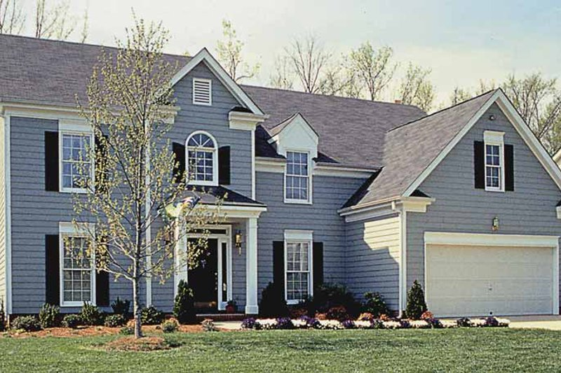 Country Exterior - Front Elevation Plan #453-490 - Houseplans.com