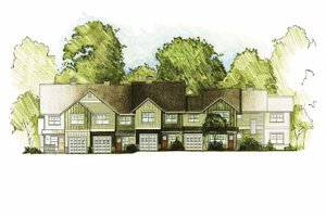 Architectural House Design - Traditional Exterior - Front Elevation Plan #1042-11