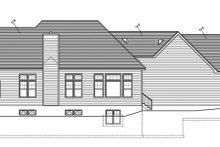 Home Plan - Ranch Exterior - Rear Elevation Plan #1010-85