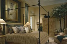 Home Plan Design - Mediterranean Interior - Master Bedroom Plan #930-412