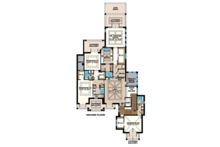 Beach Floor Plan - Upper Floor Plan Plan #27-541