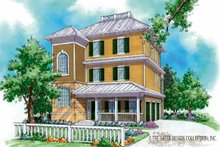 Country Exterior - Front Elevation Plan #930-168