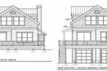 Bungalow Exterior - Rear Elevation Plan #100-213