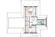 Craftsman Floor Plan - Upper Floor Plan Plan #23-2709