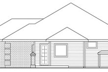 Traditional Exterior - Other Elevation Plan #124-280