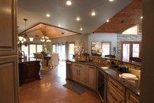 Architectural House Design - Contemporary Interior - Kitchen Plan #17-2551