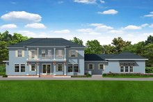 Architectural House Design - Southern Exterior - Front Elevation Plan #1058-178