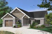 Craftsman Style House Plan - 2 Beds 2 Baths 1504 Sq/Ft Plan #23-2641