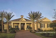 Home Plan - Country Exterior - Front Elevation Plan #930-419