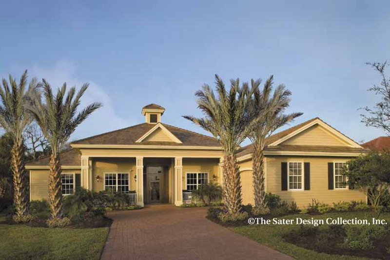 Architectural House Design - Country Exterior - Front Elevation Plan #930-419