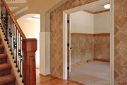 Tudor Style House Plan - 3 Beds 2.5 Baths 2878 Sq/Ft Plan #487-6 Photo
