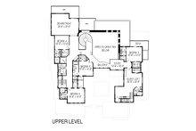 Modern Floor Plan - Upper Floor Plan Plan #920-71