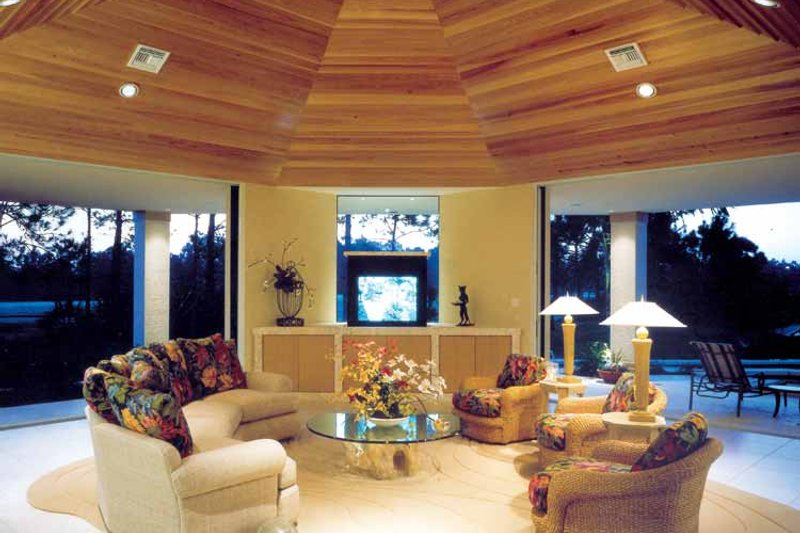 Contemporary Interior - Family Room Plan #930-108 - Houseplans.com