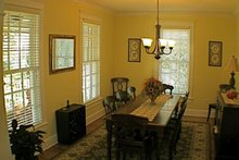Country Interior - Dining Room Plan #137-323