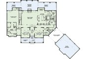 European Style House Plan - 6 Beds 7.5 Baths 6024 Sq/Ft Plan #17-2538